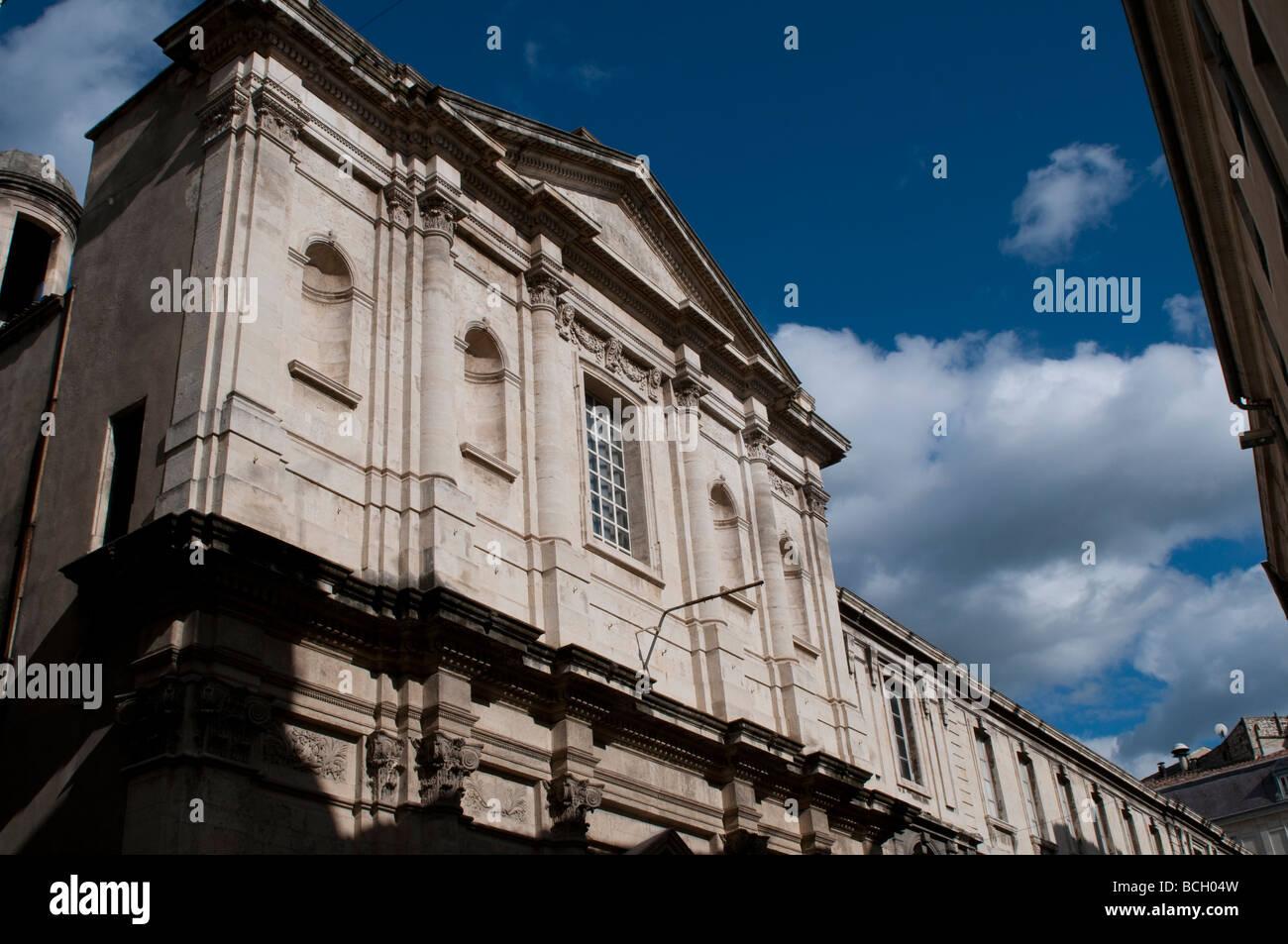 Jesuits College Chapell La chapelle des Jesuites Nimes France - Stock Image