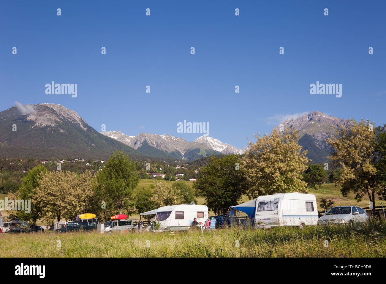 Campsite Stock Photos & Campsite Stock Images - Alamy
