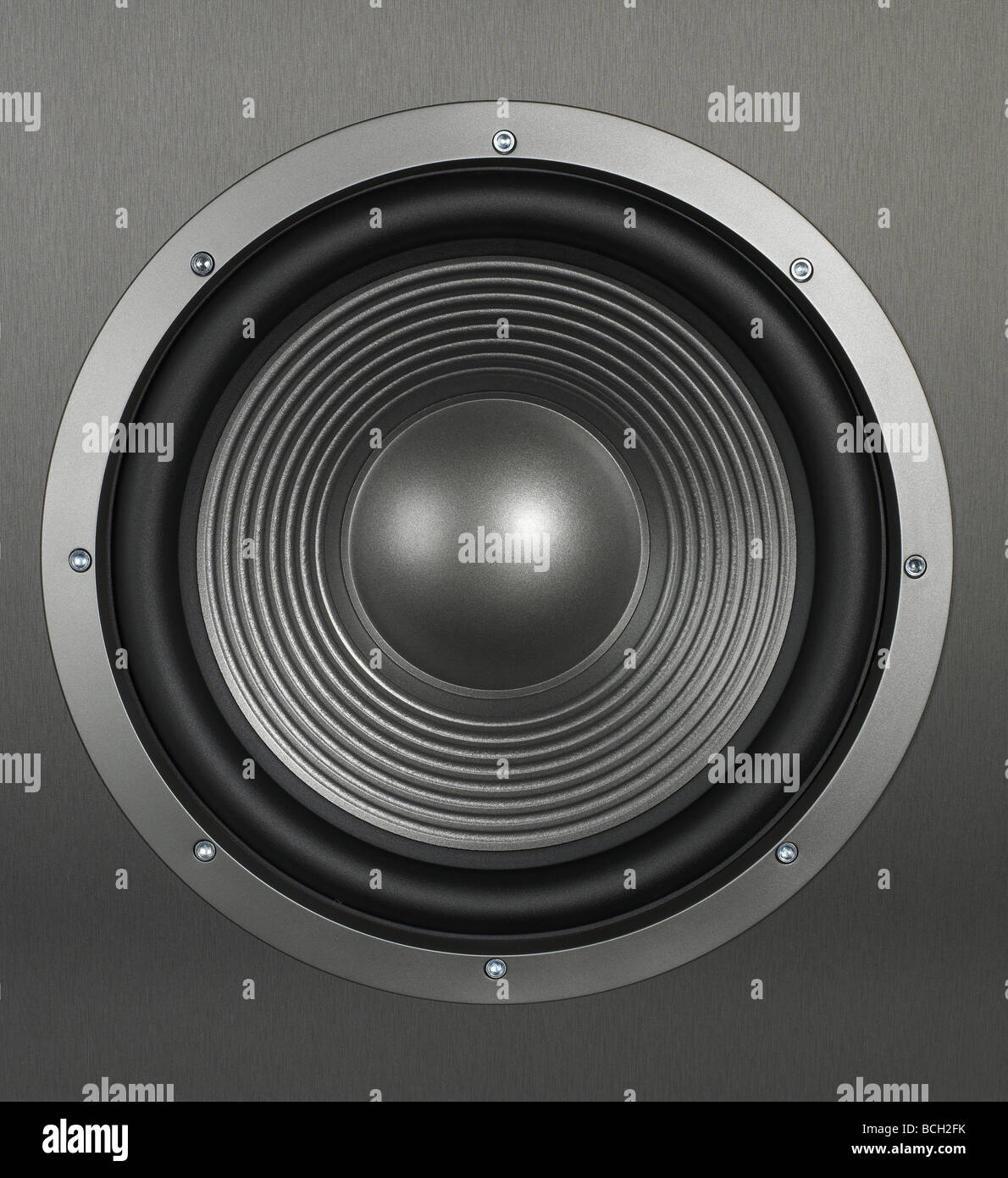 Home Audio Loud speakers - Stock Image