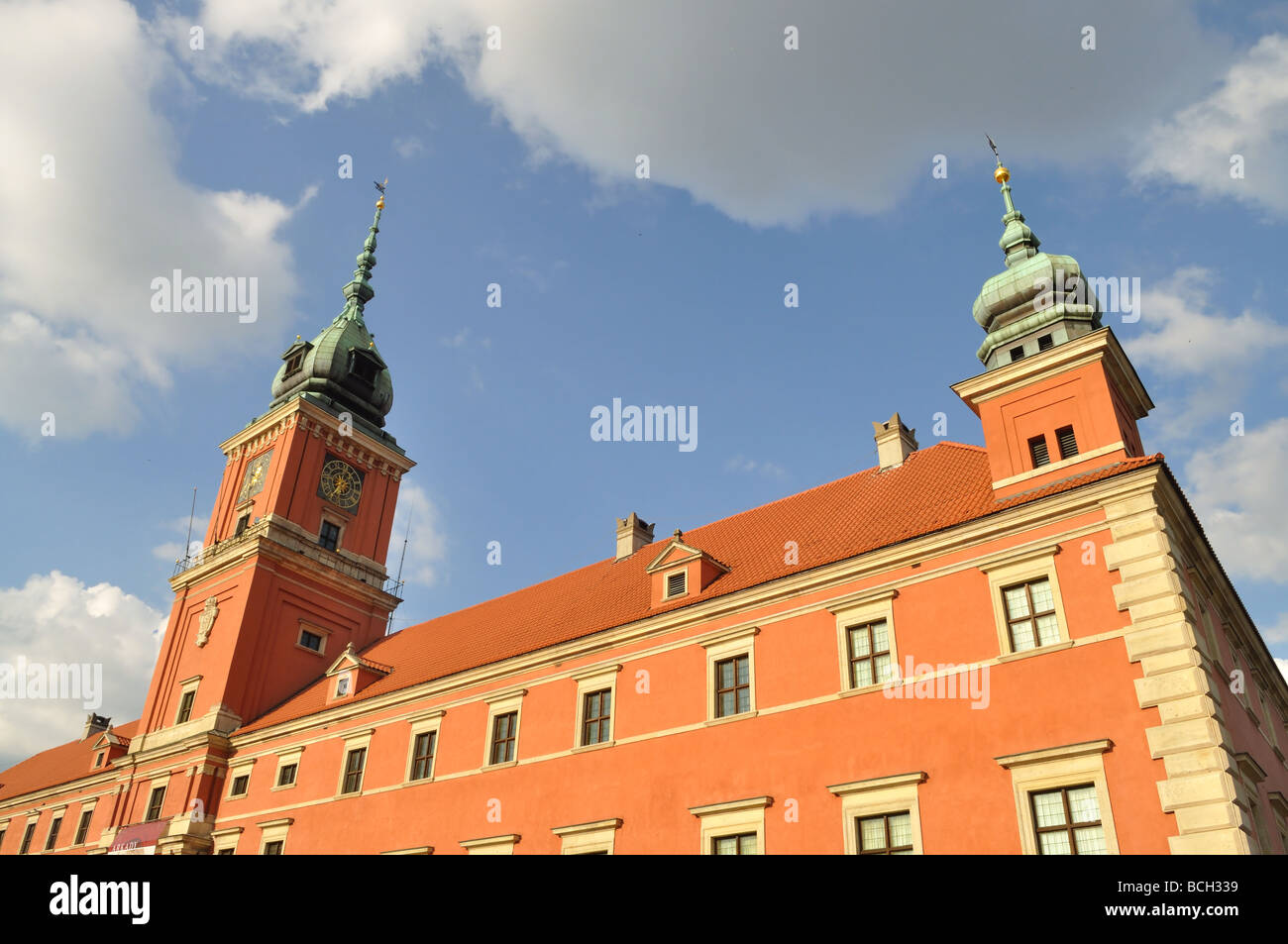 The Royal Castle in Warsaw - Stock Image
