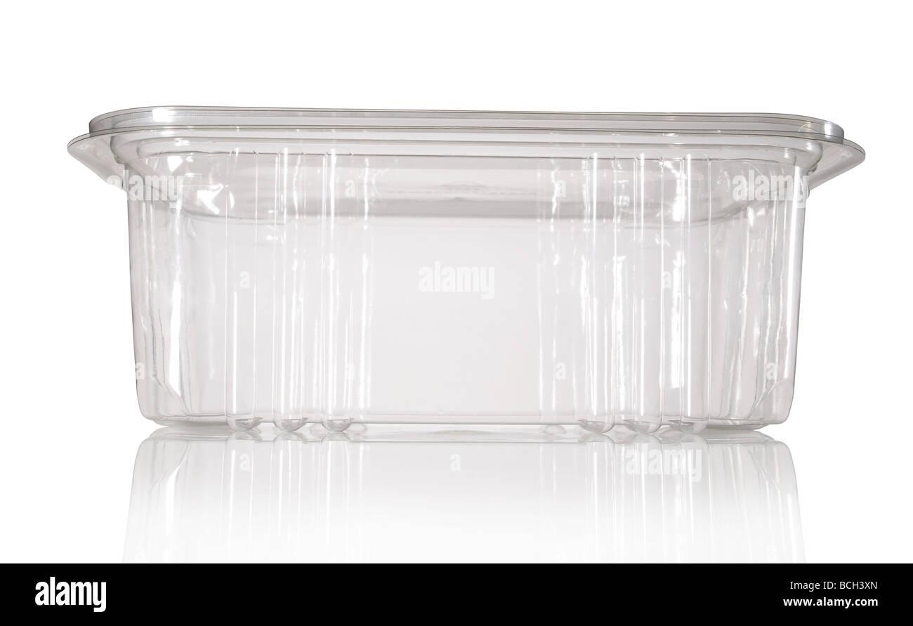 plastic container - Stock Image