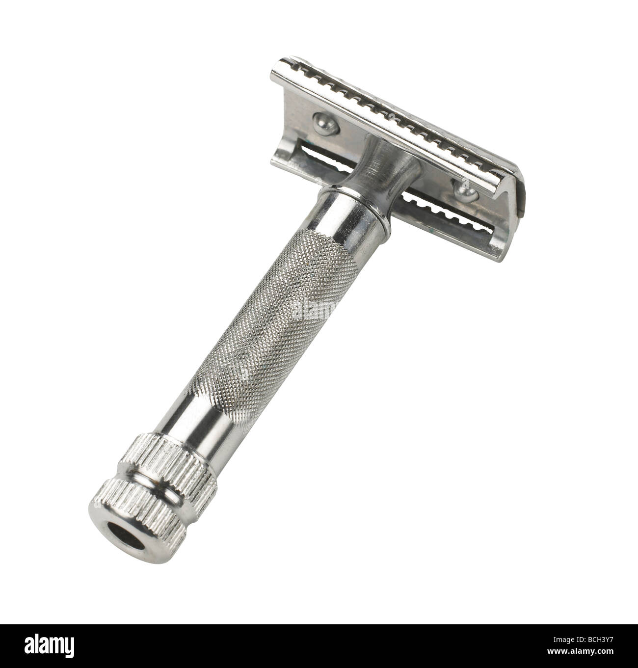 chrome shaver - Stock Image