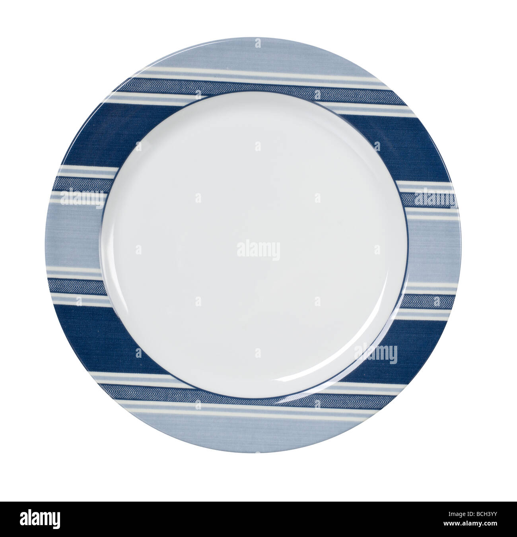 plate dish - Stock Image