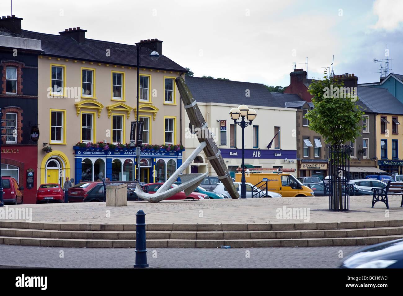 Wolfe Tone Square Bantry West Cork Ireland - Stock Image