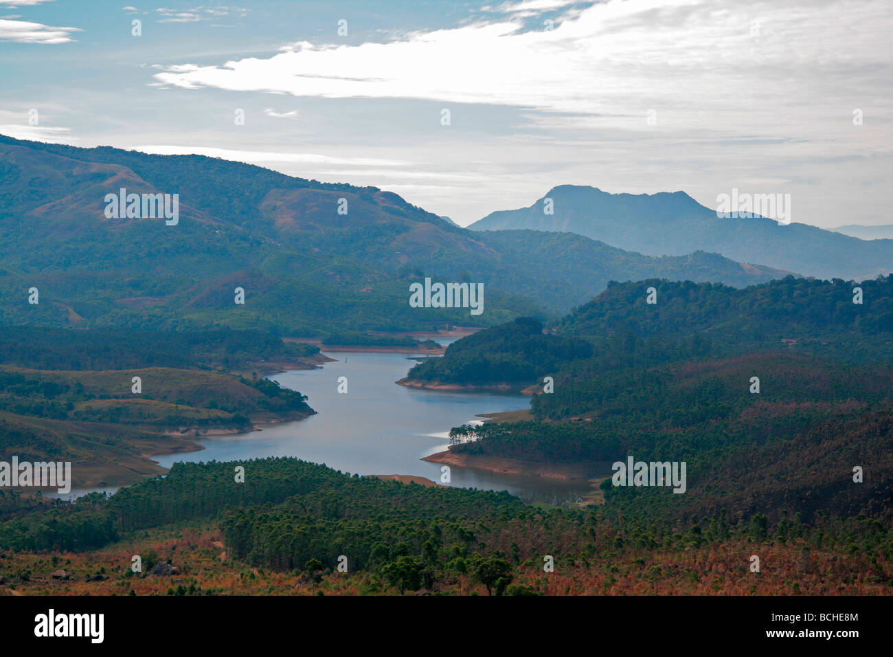 Western Ghats of India - Stock Image
