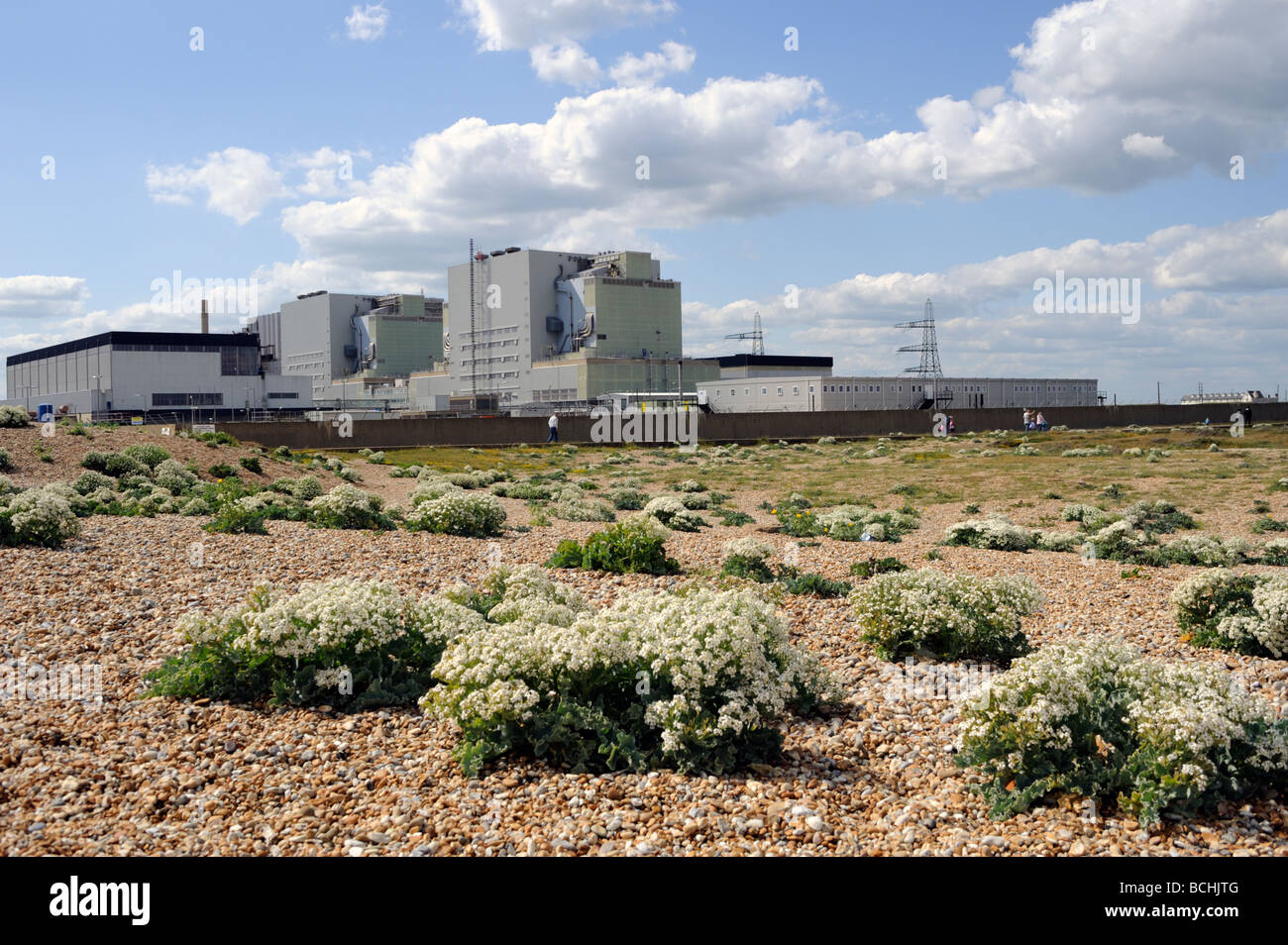 Dungeness Nuclear Power Station,Kent,UK - Stock Image