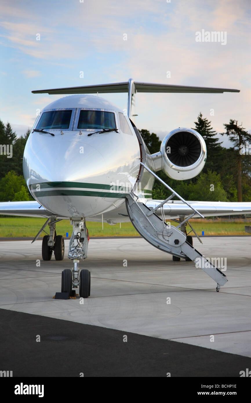 Corporate jet - Stock Image