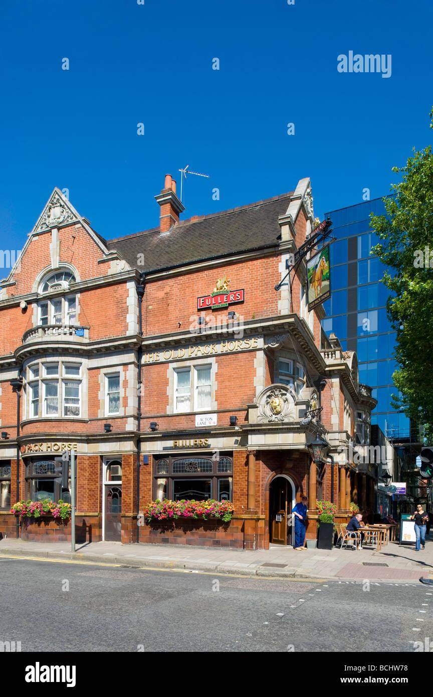 Fullers pub on Chiswick High Road W4 London United Kingdom - Stock Image