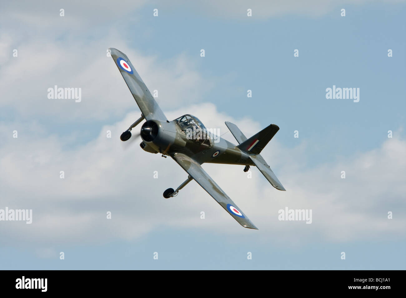 Percival P 56 Provost T1  at Old Warden Stock Photo