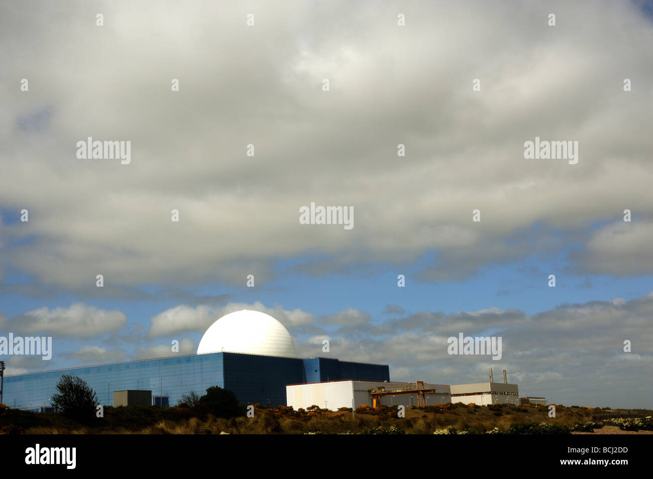 Sizewell B Nuclear Power Station,Suffolk UK - Stock Image