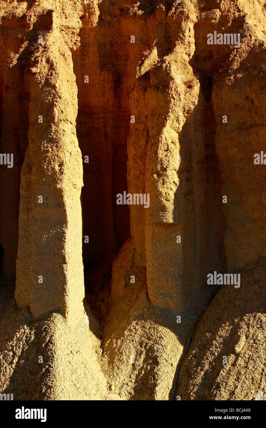 Desertification proces in southeastern Spanish - Stock Image