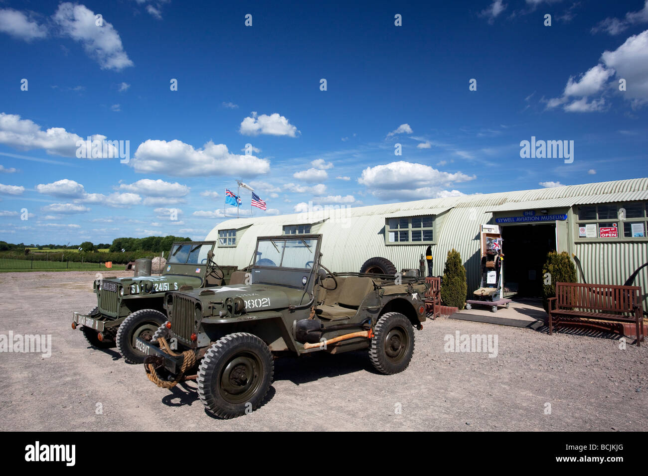 Sywell Aviation Museum, Sywell, Northamptonshire, England, UK - Stock Image
