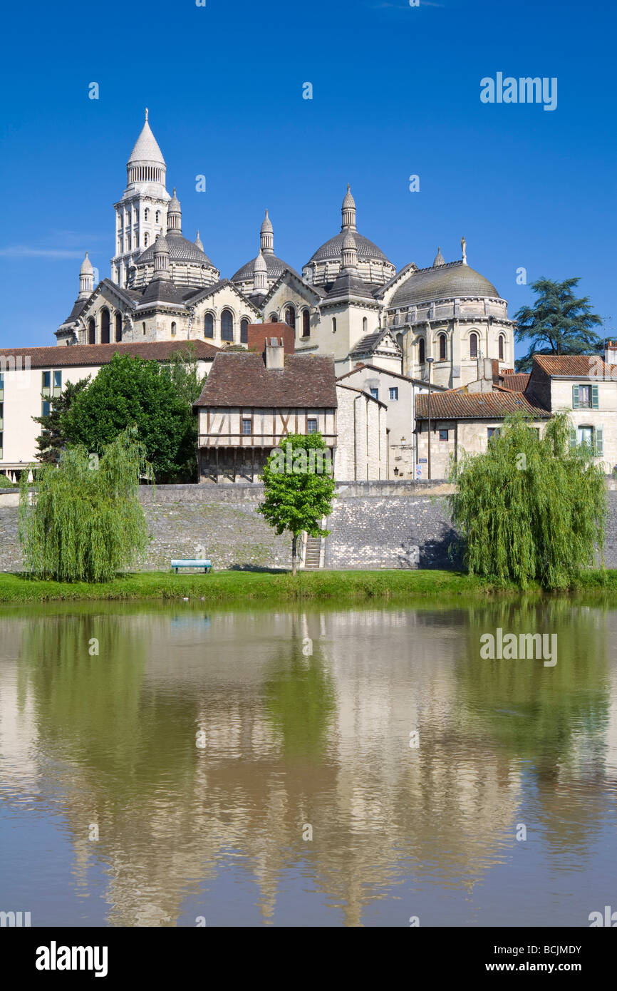 St. Front Cathedral, Periguex, Dordogne, France Stock Photo