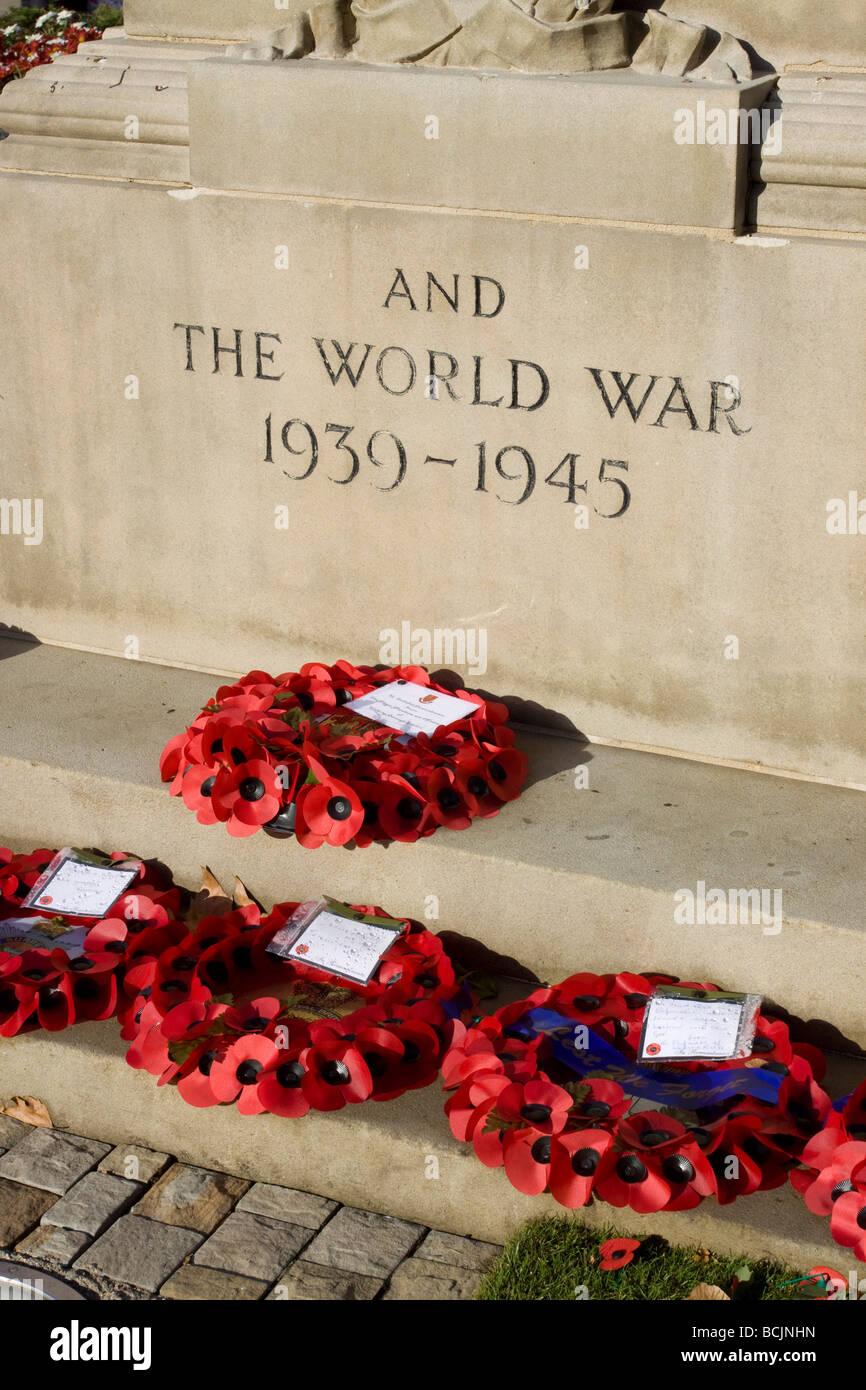 War Memorial, Woking, Surrey, England - Stock Image