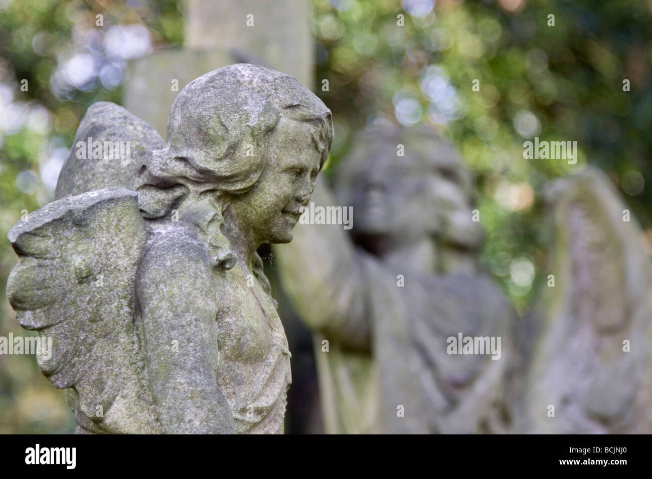 Highgate Cemetery, London, England Stock Photo