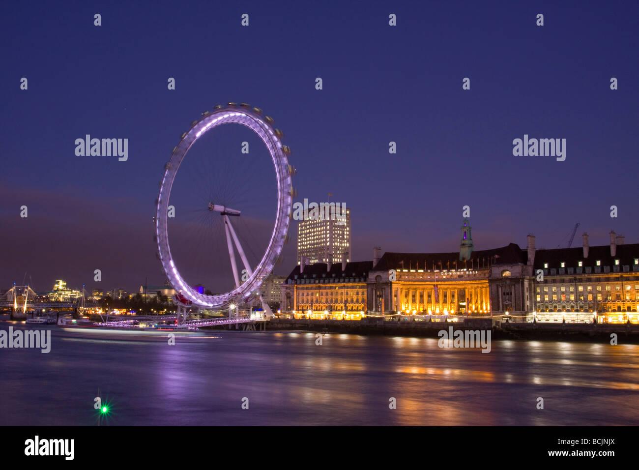 Millennium Wheel, London, England - Stock Image