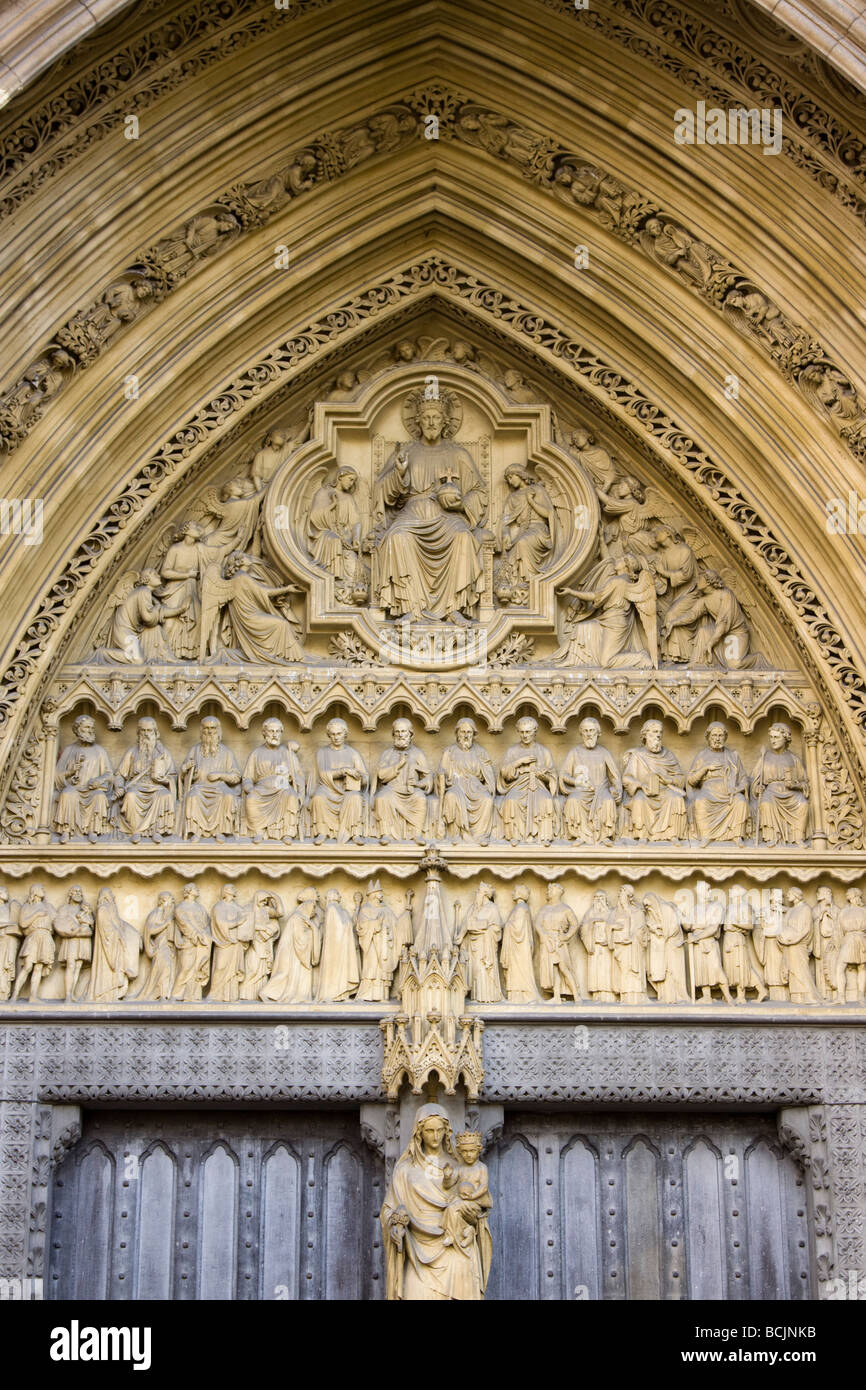 Westminster Abbey, London, England - Stock Image