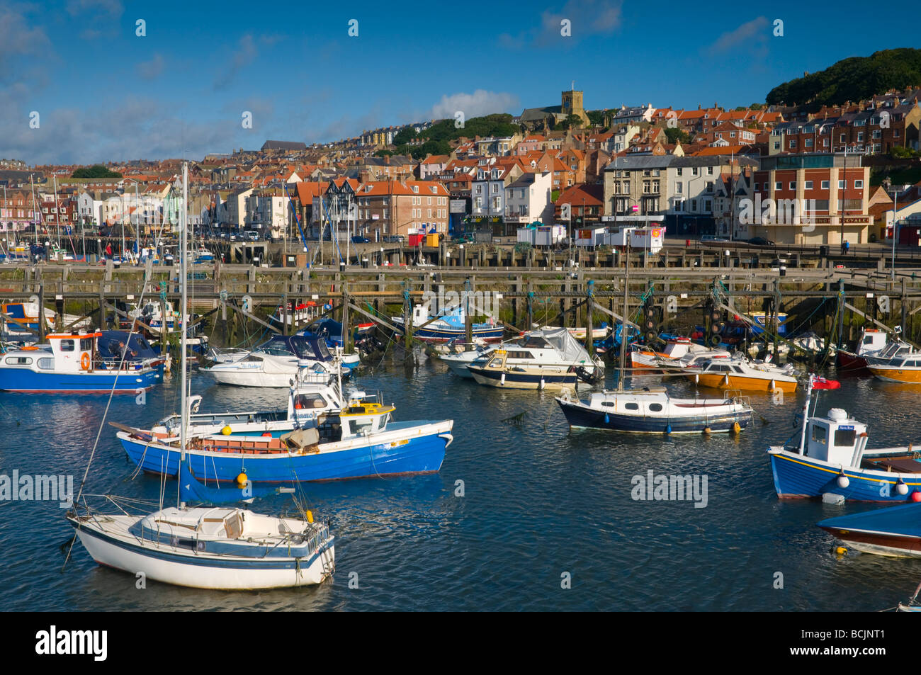 UK, North Yorkshire, Scarborough - Stock Image