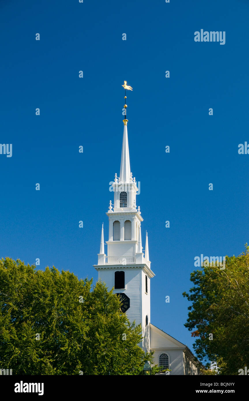 USA, Rhode Island, Newport, Trinity Episcopal Church - Stock Image