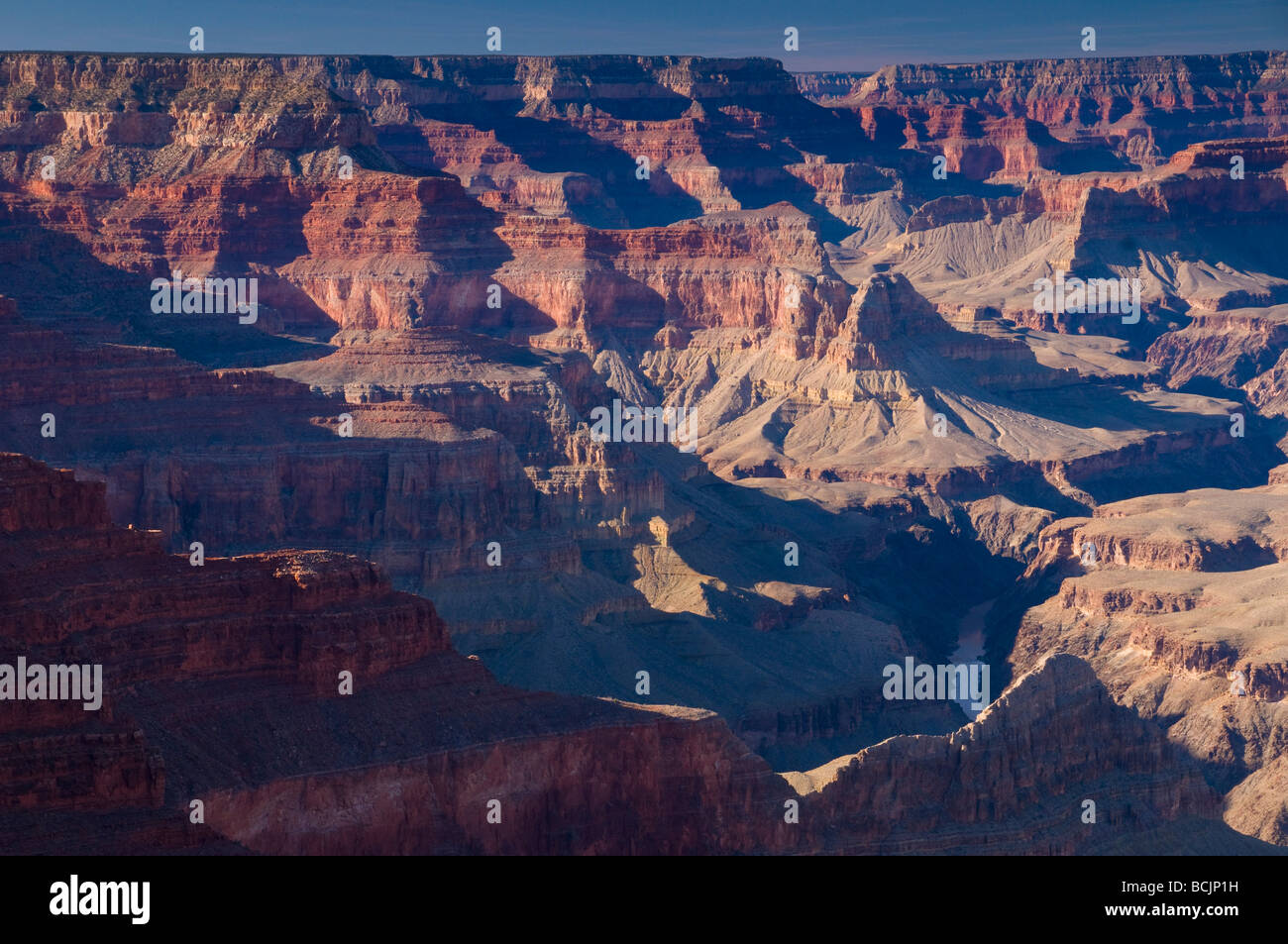 USA, Arizona, Grand Canyon, from above The Abyss - Stock Image