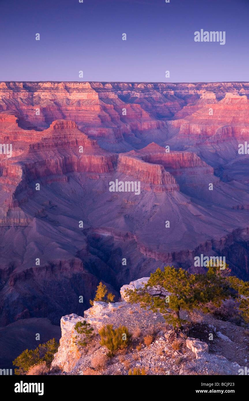 USA, Arizona, Grand Canyon, from Pima Point - Stock Image