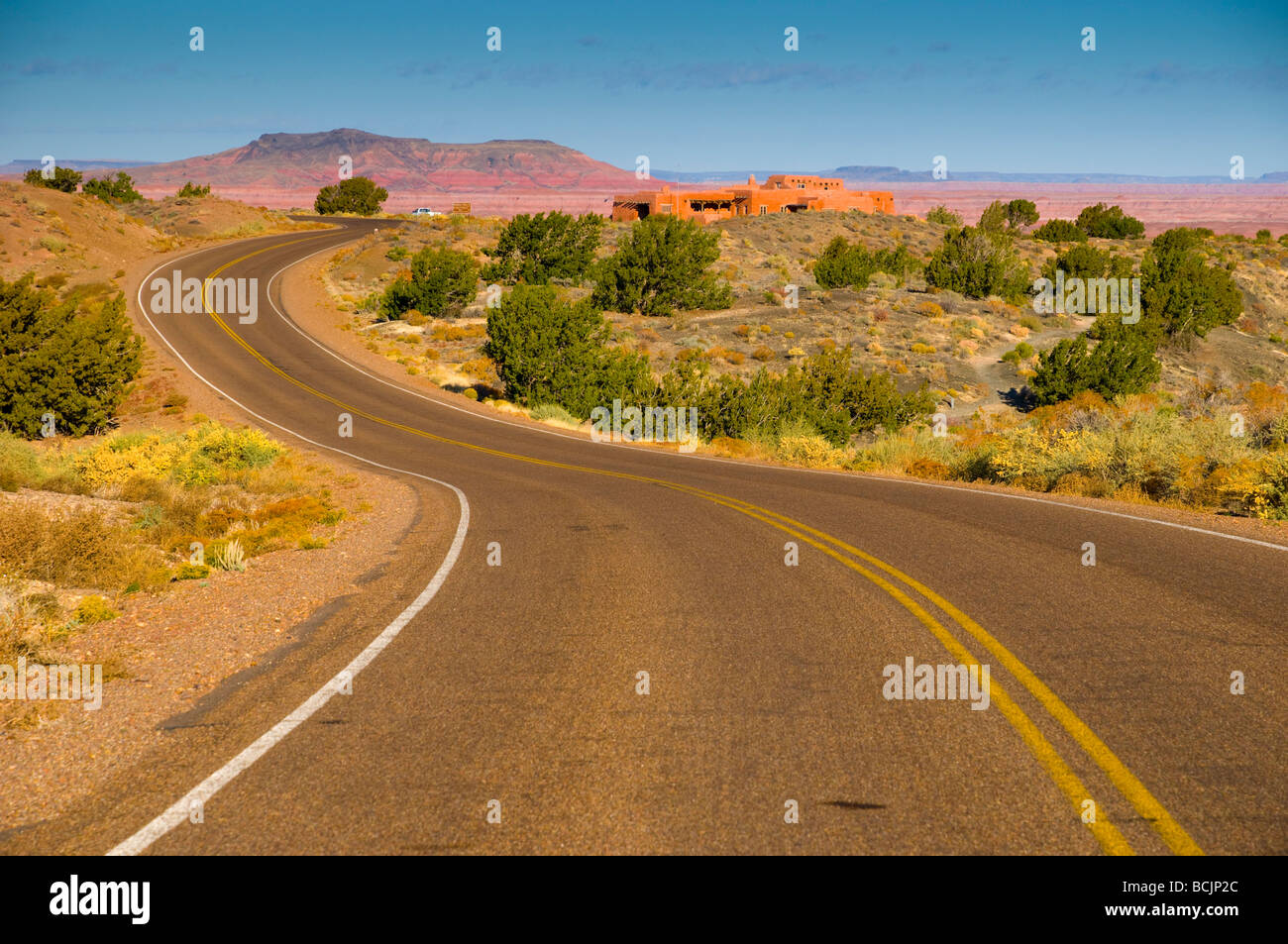 USA, Arizona, Petrified Forest National Park - Stock Image