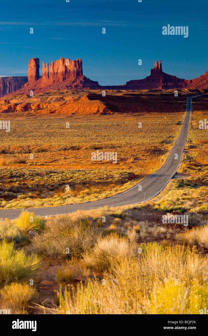 USA Arizona-Utah Monument Valley - Stock Image