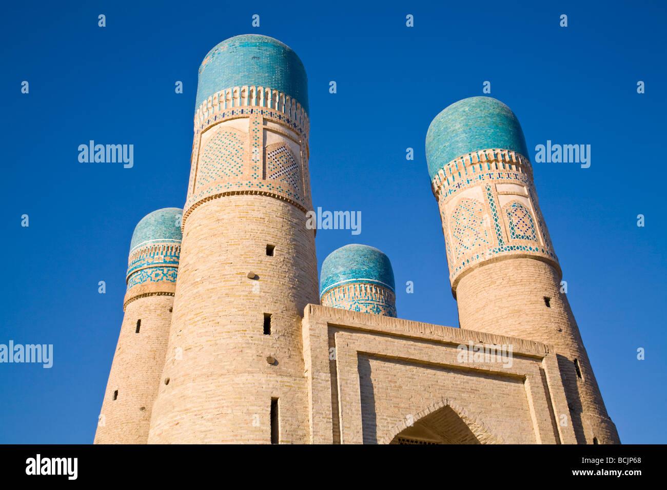 Uzbekistan, Bukhara, Chor Minor - Stock Image