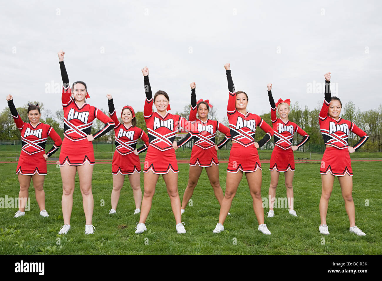 Cheerleaders - Stock Image