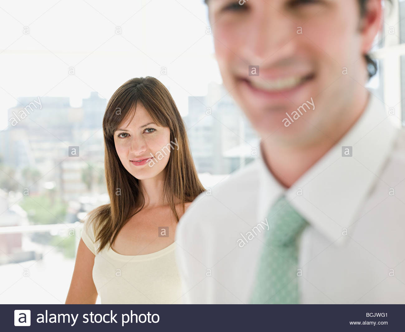 Young businesspeople - Stock Image