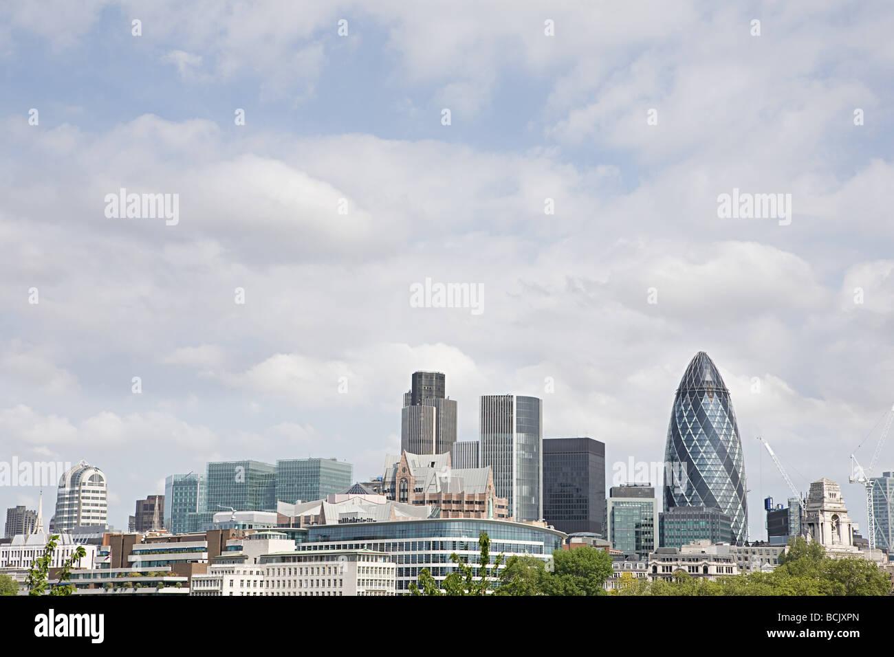 City of london skyline - Stock Image