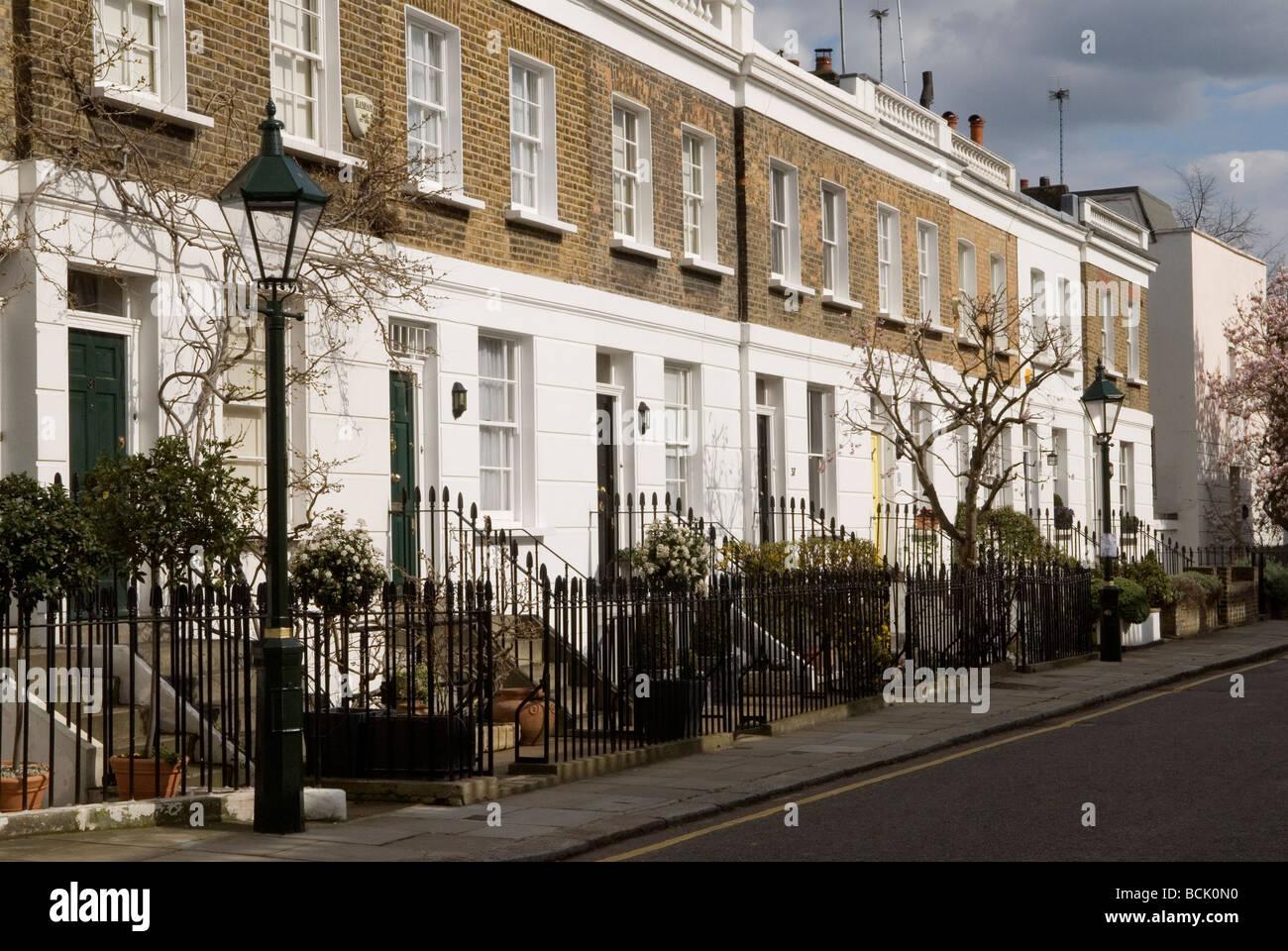 [Bramerton street] Chelsea, London SW3. England. HOMER SYKES - Stock Image