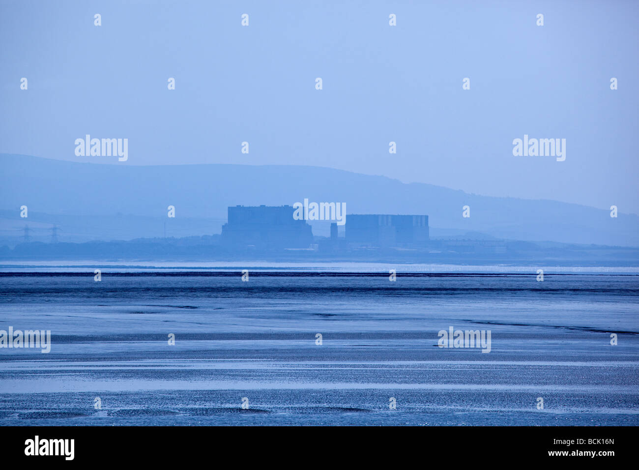 Hinkley Point Nuclear Power Stations - Stock Image