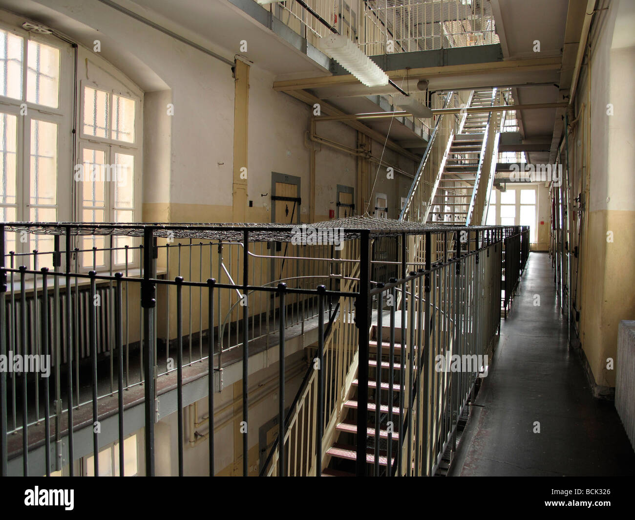 Germany Saxony Bautzen DDR political prison Stock Photo