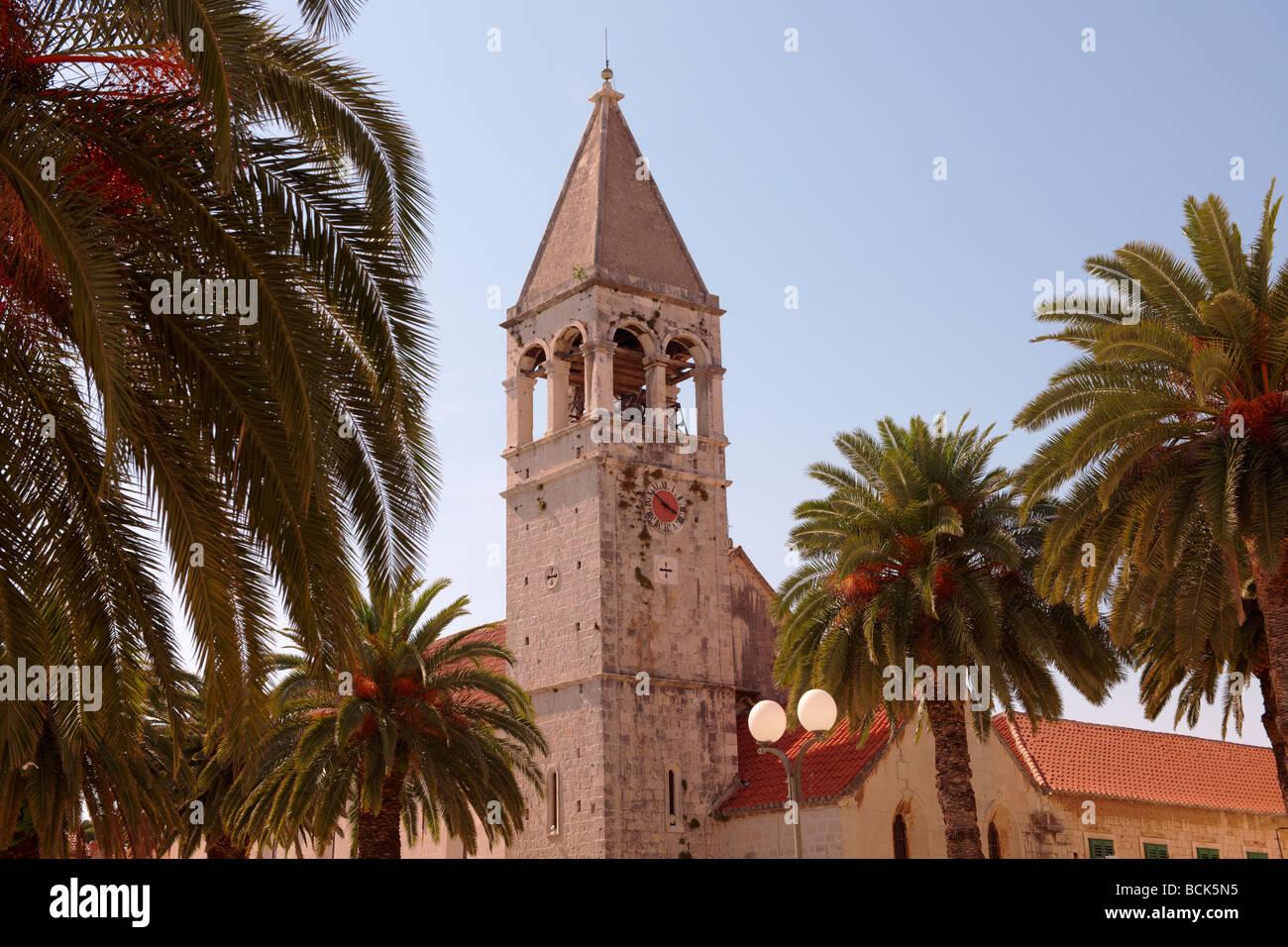 Dominican Monastery - Trogir Croatia Stock Photo