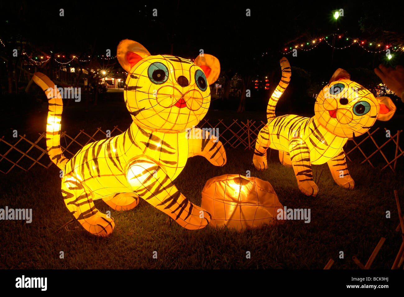 Mid-Autumn festival different chinese figures to celebrate