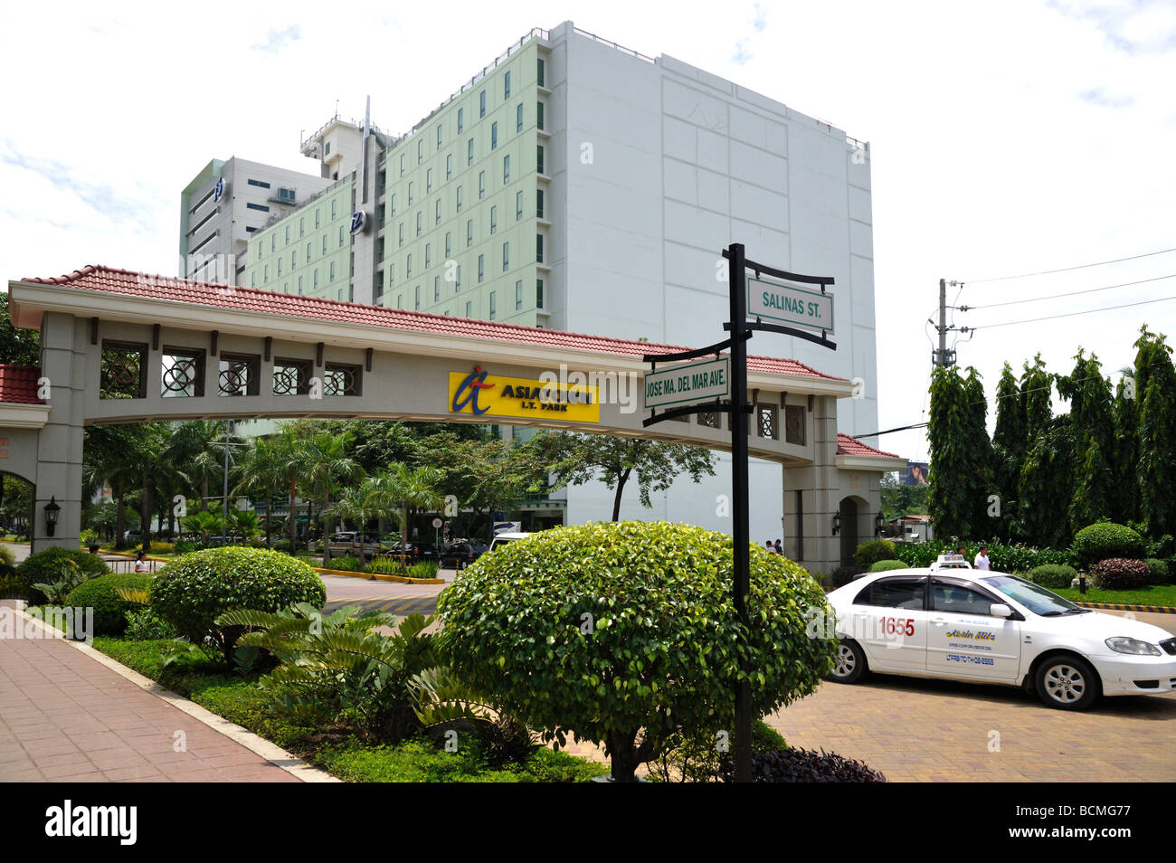 Asiatown IT Business and Office Park Cebu Philippines - Stock Image