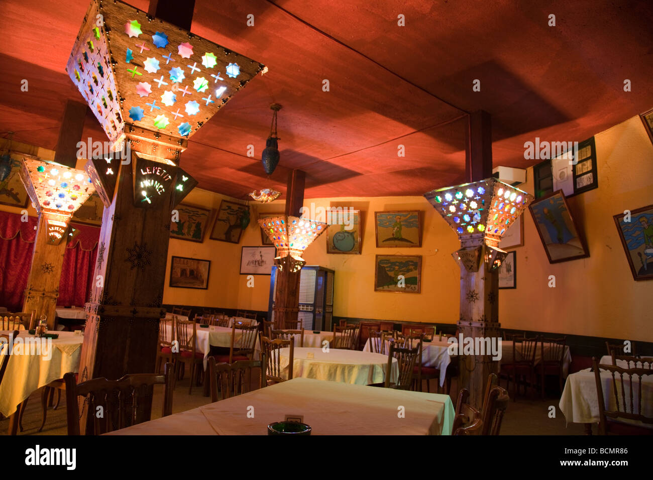 Le Petit Prince Is A Charming Bar And Restaurant In Tozeur Tunisia
