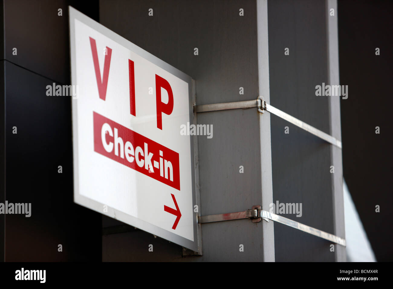 VIP check-in, Esprit Arena, formerly LTU Arena, Dusseldorf, Germany - Stock Image