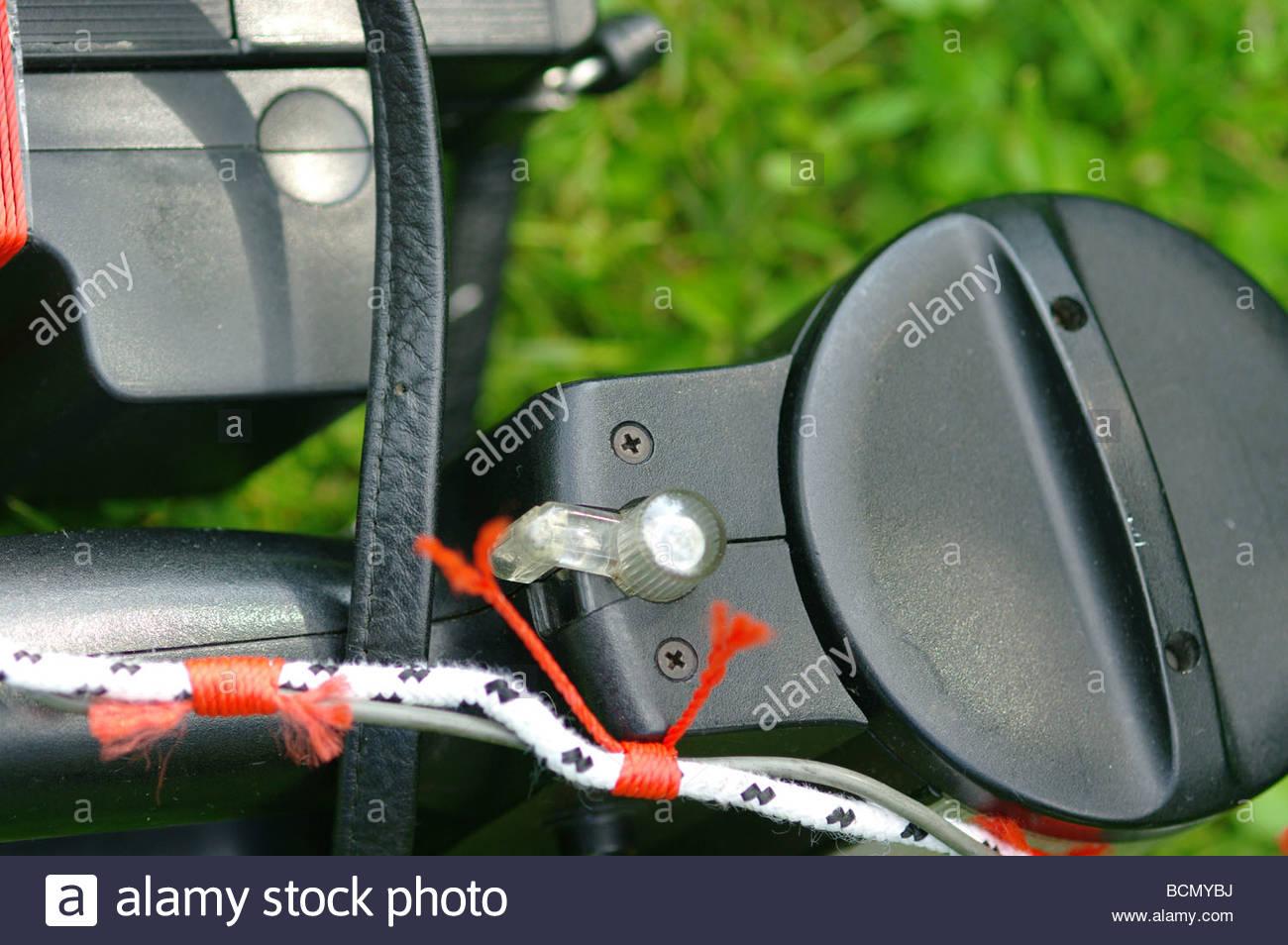 Flashgun close up - Stock Image