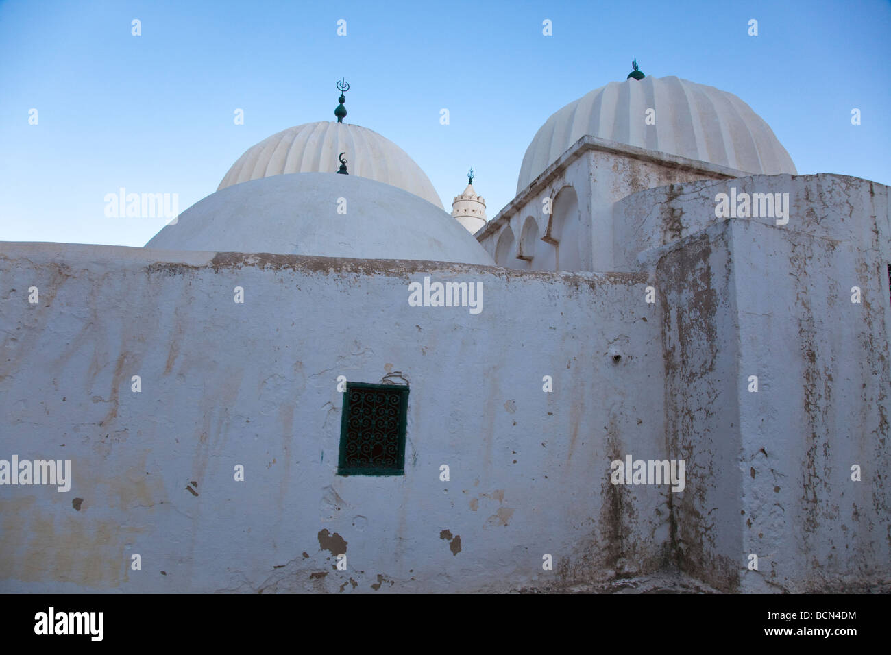 Sidi Bou Makhlouf mosque in El Kef, one of the most underrated tourist destinations in Tunisia Stock Photo