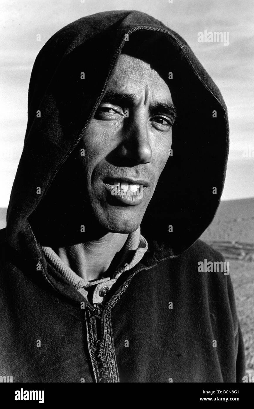 morocco erg chebbi Stock Photo