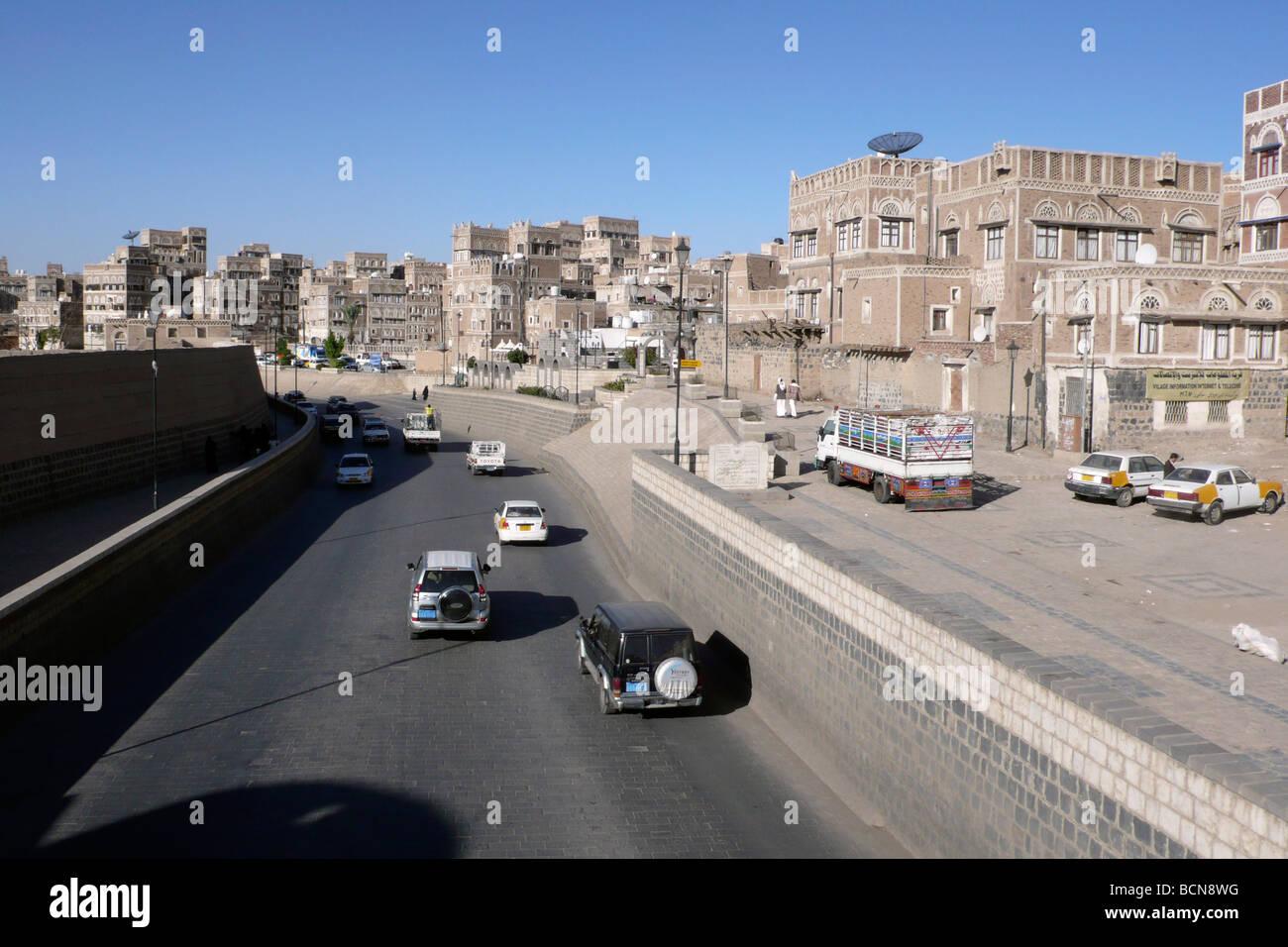 yemen sana a - Stock Image