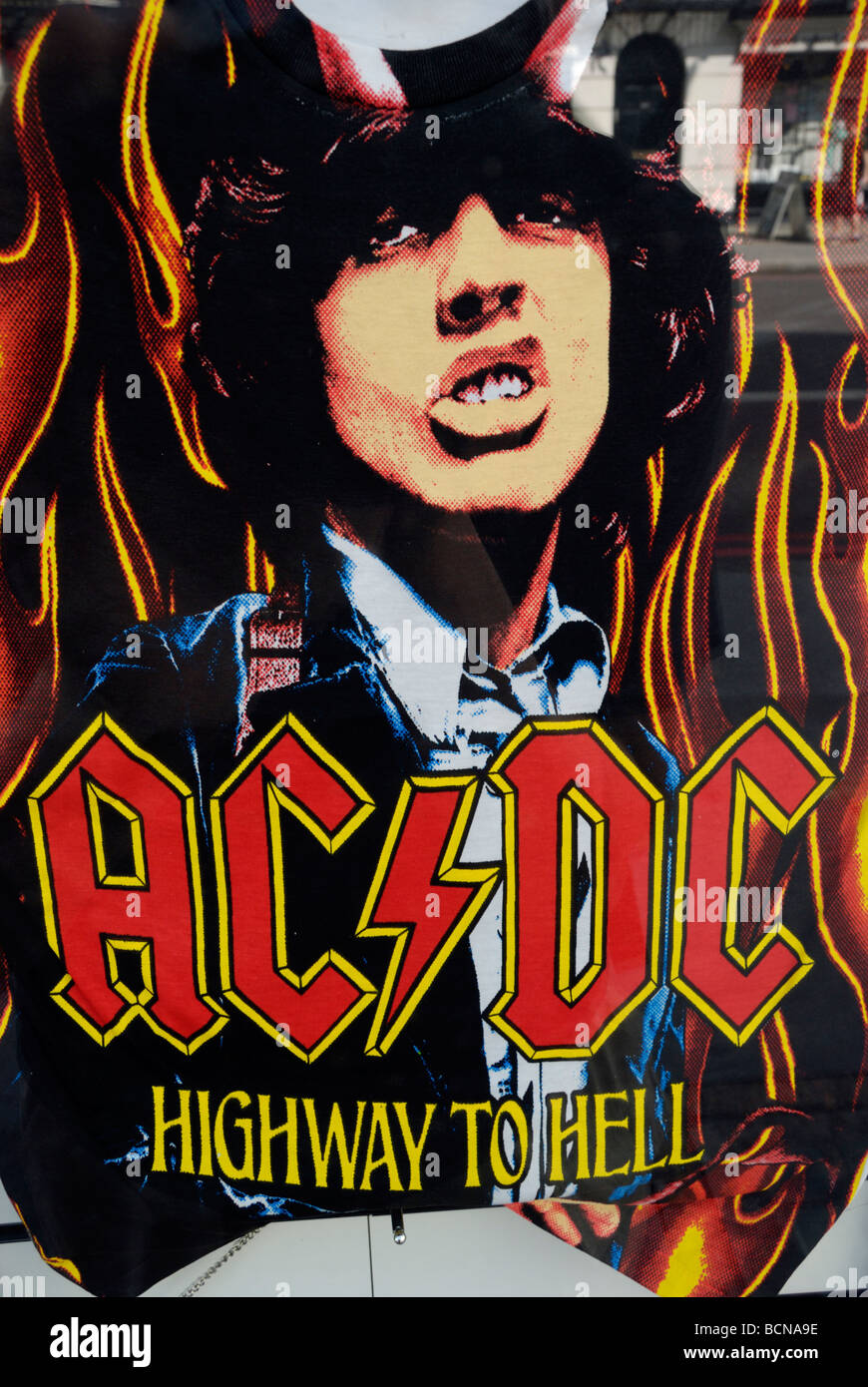 AC//DC Highway To Hell Poster A4//A3 Rock Music Poster