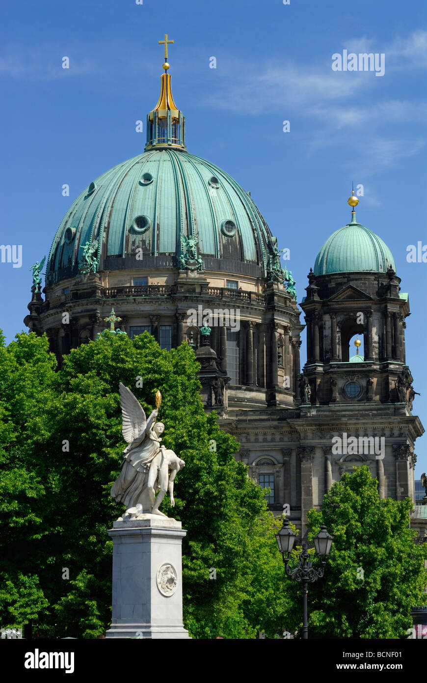 Berlin Germany Berliner Dom cathedral - Stock Image