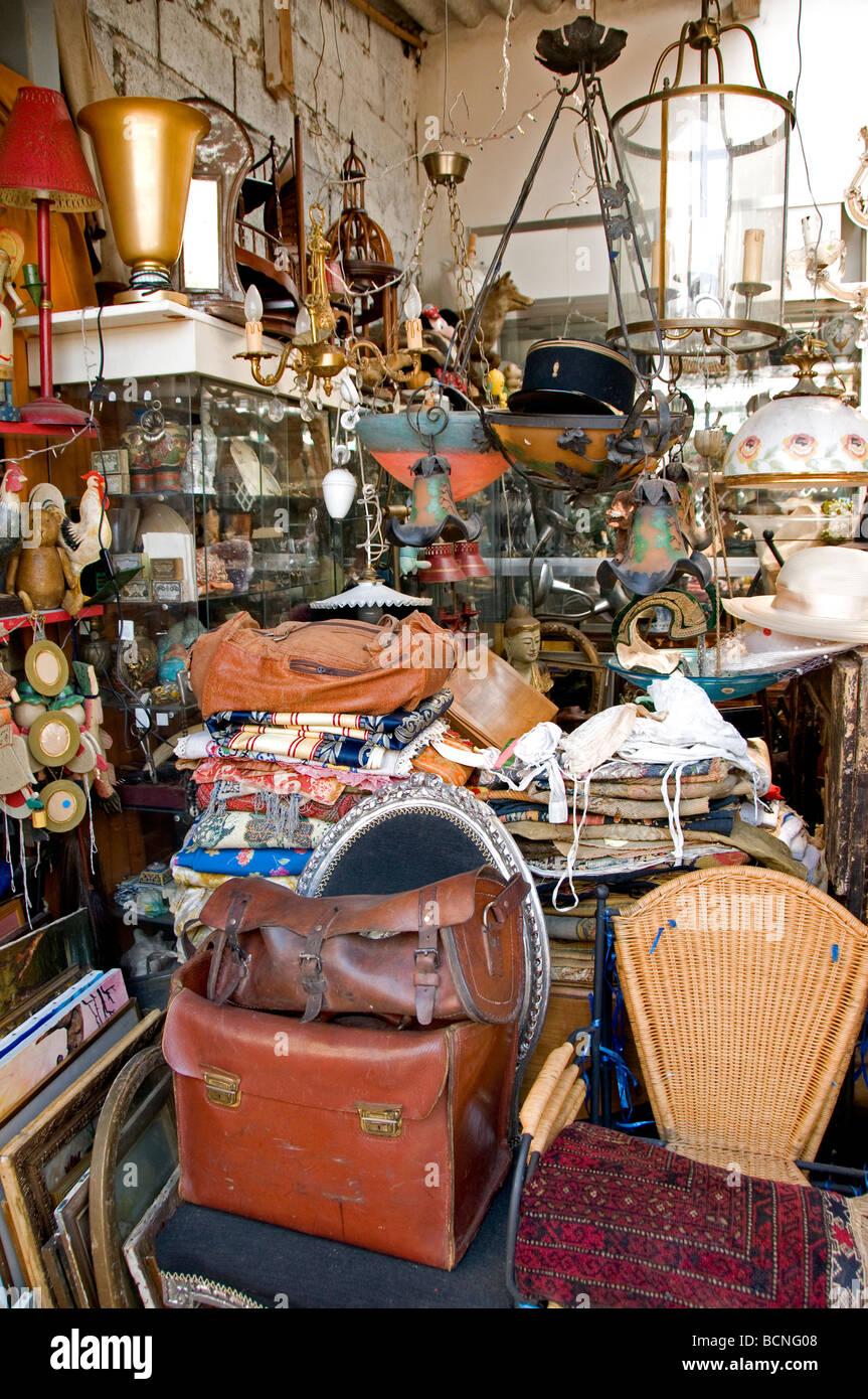 marche aux puces de saint ouen flea market paris stock photo 25059784 alamy. Black Bedroom Furniture Sets. Home Design Ideas