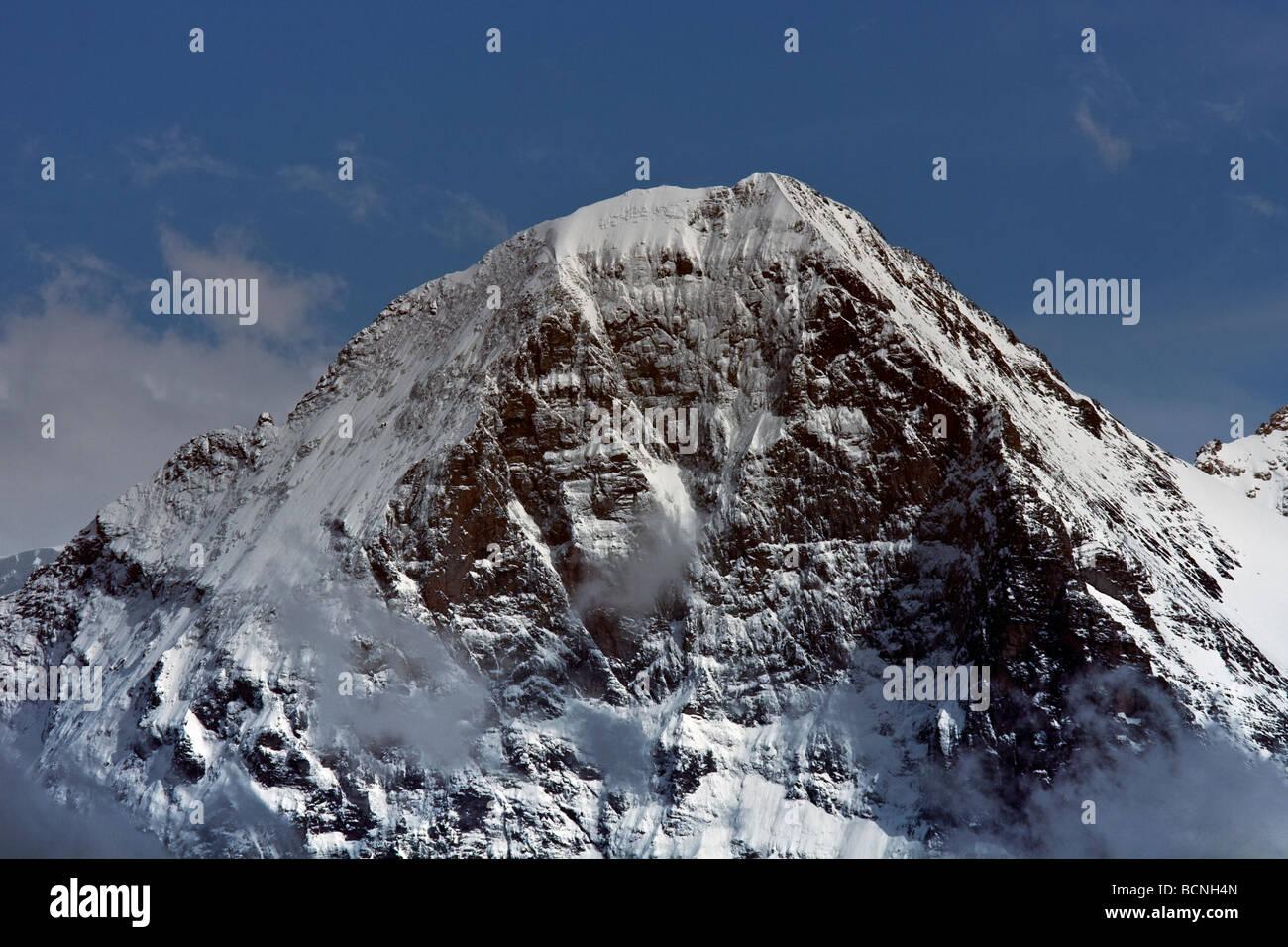 Eiger Berner Oberland Schweiz - Stock Image