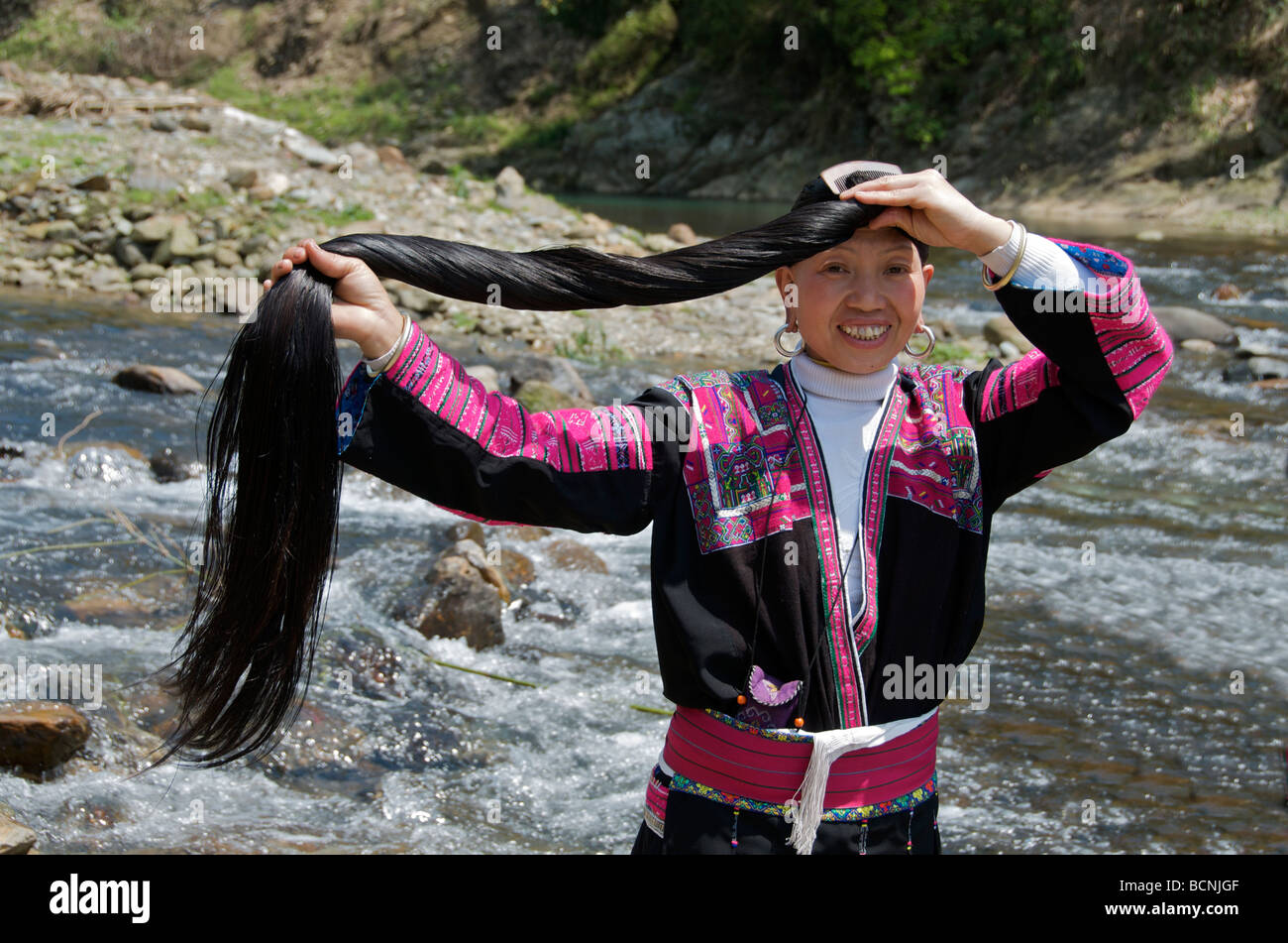 The longest haired village in the world