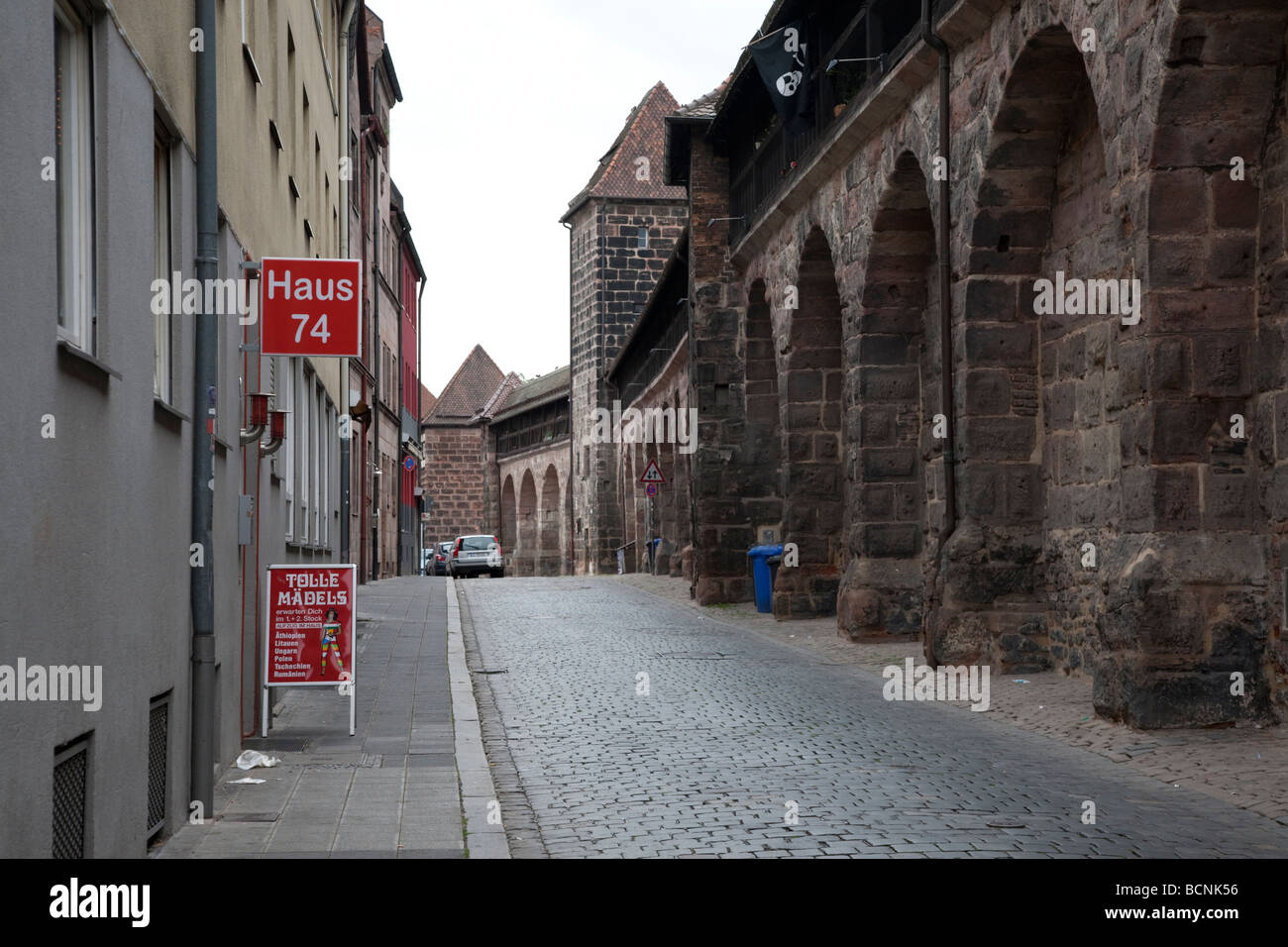 Woman in Nuremberg