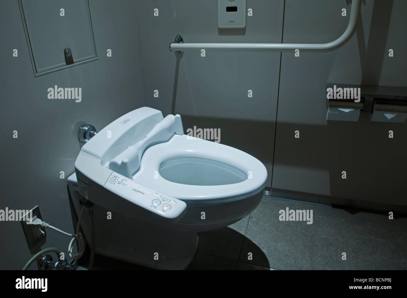 Toilet Seat Toilets Modern Stock Photos & Toilet Seat Toilets Modern ...